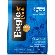 Eagle Pack Small Breed Chicken Meal & Pork Meal Formula Dry Dog Food, 15-lb bag
