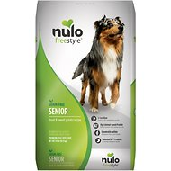 Nulo Freestyle Trout & Sweet Potato Recipe Grain-Free Senior Dry Dog Food, 24-lb bag
