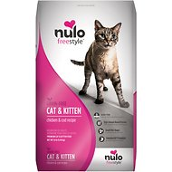 Nulo Freestyle Chicken & Cod  Recipe Grain-Free Dry Cat & Kitten Food, 12-lb bag