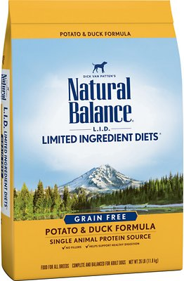 4. Natural Balance Limited Ingredient Diets