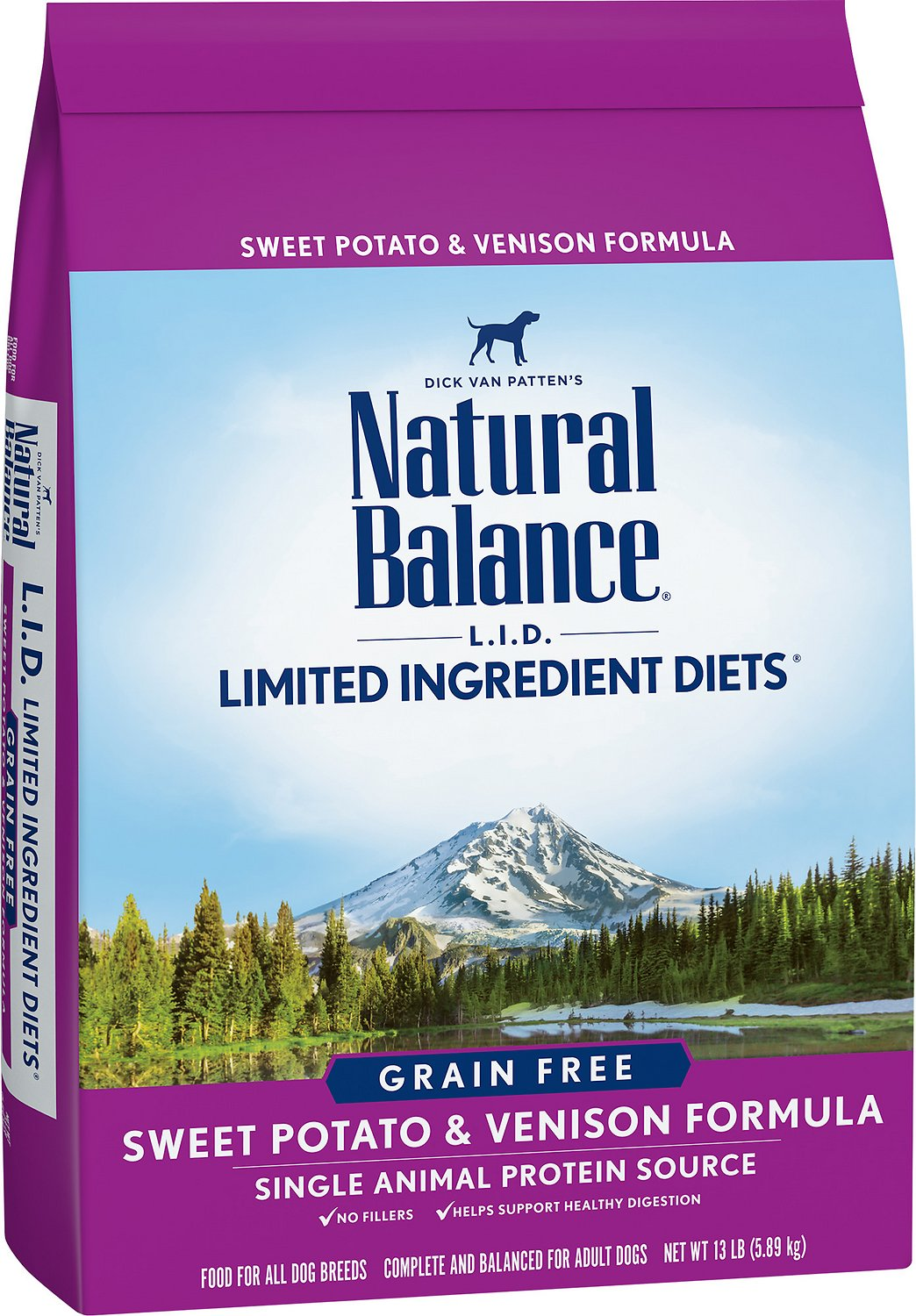Natural Balance L I D Limited Ingredient Diets Grain Free