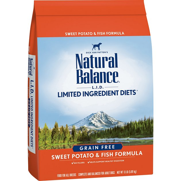 7. Natural Balance Limited Ingredient Diets Dry Dog Food