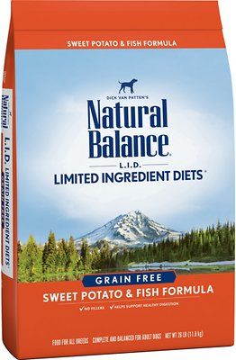 3. Natural Balance L.I.D. Limited Ingredient Diets Salmon & Sweet Potato Formula Dry Dog Food