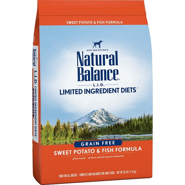 2. Natural Balance L.I.D. Limited Ingredient Dog Food