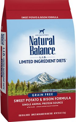 Natural Balance Sweet Potato And Bison Reviews
