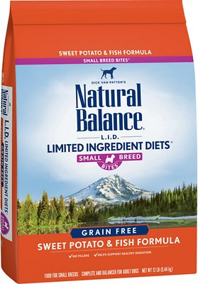 5. Natural Balance Limited Ingredient Diet Grain-Free Recipe