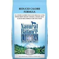 Natural Balance Original Ultra Reduced Calorie Formula Dry Dog Food, 4.5-lb bag