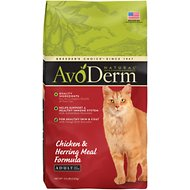 AvoDerm Natural Chicken & Herring Meal Formula Adult Dry Cat Food, 3.5-lb bag