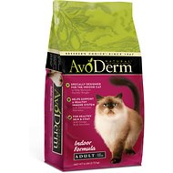 AvoDerm Natural Indoor Hairball Care Formula Adult Dry Cat Food, 6-lb bag
