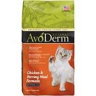 AvoDerm Natural Kitten Chicken & Herring Meal Formula Dry Cat Food, 3.5-lb bag