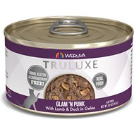 Weruva Truluxe Glam 'N Punk with Lamb & Duck in Gelee Grain-Free Canned Cat Food, 3-oz, case of 24