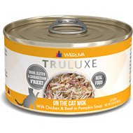 Weruva Truluxe On The Cat Wok with Chicken & Beef in Pumpkin Soup Grain-Free Canned Cat Food, 3-oz, case of 24