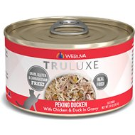 Weruva Truluxe Peking Ducken with Chicken & Duck in Gravy Grain-Free Canned Cat Food, 3-oz, case of 24