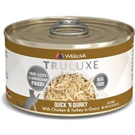 Weruva Truluxe Quick 'N Quirky with Chicken & Turkey in Gravy Grain-Free Canned Cat Food