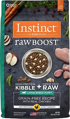 Raw boost Coonhound puppy food