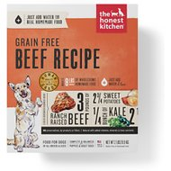 The Honest Kitchen Grain-Free Beef Recipe Dehydrated Dog Food, 2-lb box