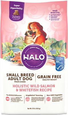 5. Halo Holistic Healthy Weight Dry Dog Food