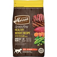 Merrick Grain-Free Healthy Weight Recipe Dry Dog Food, 4-lb bag