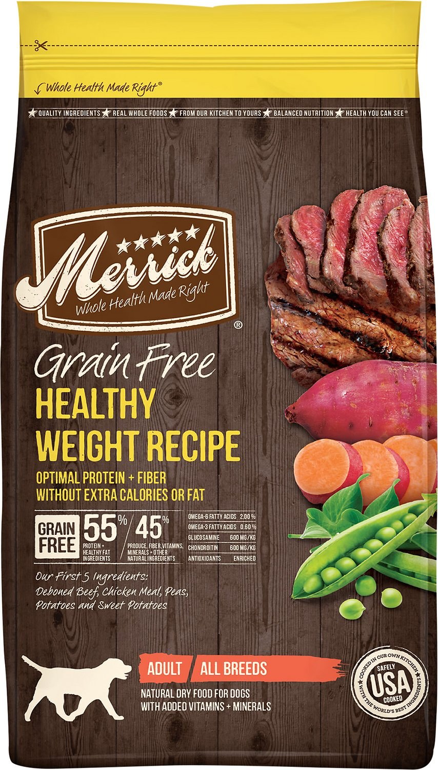 Merrick grain free healthy weight recipe dry dog food 25 lb bag video forumfinder Images