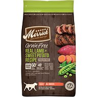 Merrick Grain-Free Real Lamb + Sweet Potato Recipe Dry Dog Food, 4-lb bag
