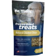 Dr. Tim's Natural Chicken Chips Genuine Freeze-Dried Dog & Cat Treats, 5-oz container