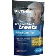 Dr. Tim's Natural Clean Tripe Genuine Freeze-Dried Dog & Cat Treats, 4-oz bag