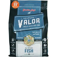 Grandma Lucy's Valor Grain-Free Fish & Quinoa Freeze-Dried Dog Food, 10-lb bag