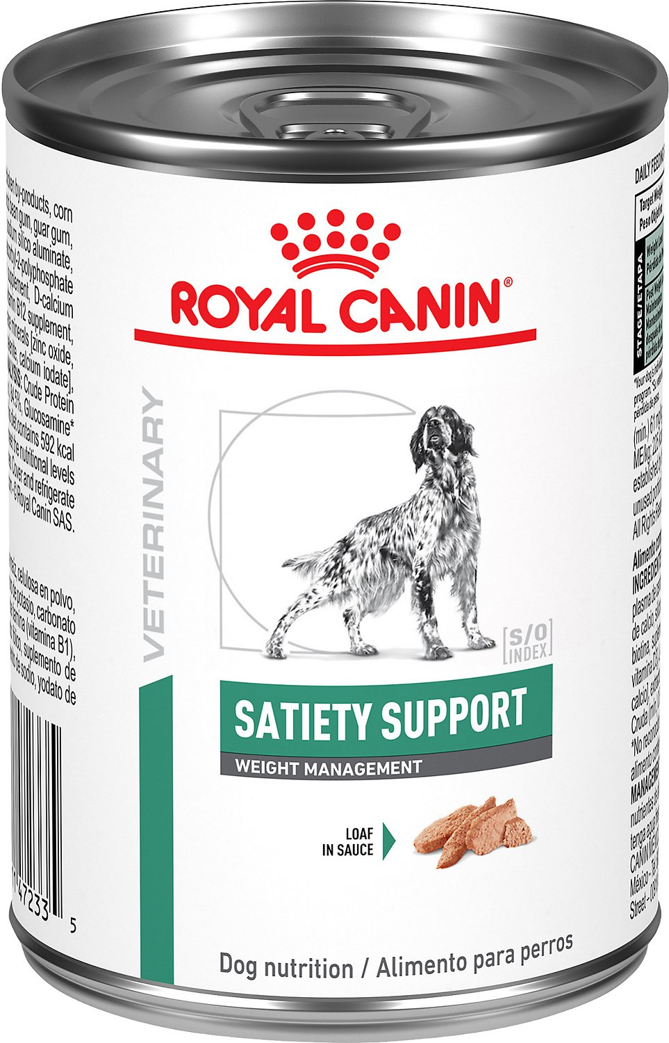 royal canin veterinary diet satiety support canned dog food 13 4 oz case of 24. Black Bedroom Furniture Sets. Home Design Ideas