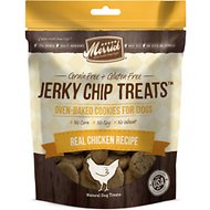 Merrick Jerky Chip Treats Real Chicken Recipe Dog Treats, 10-oz bag
