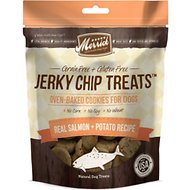 Merrick Jerky Chip Treats Salmon & Potato Recipe Dog Treats, 10-oz bag