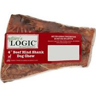 "Nature's Logic 4"" Center Cut Hind Shank Dog Bone"