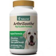 NaturVet ArthriSoothe Hip & Joint Formula Tablets, 250 count