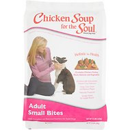 Chicken Soup for the Soul Small Bites Adult Dry Dog Food, 15-lb bag