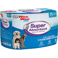 "Wee-Wee Pads for Adult Dogs, 24"" x 24"", 75 count"
