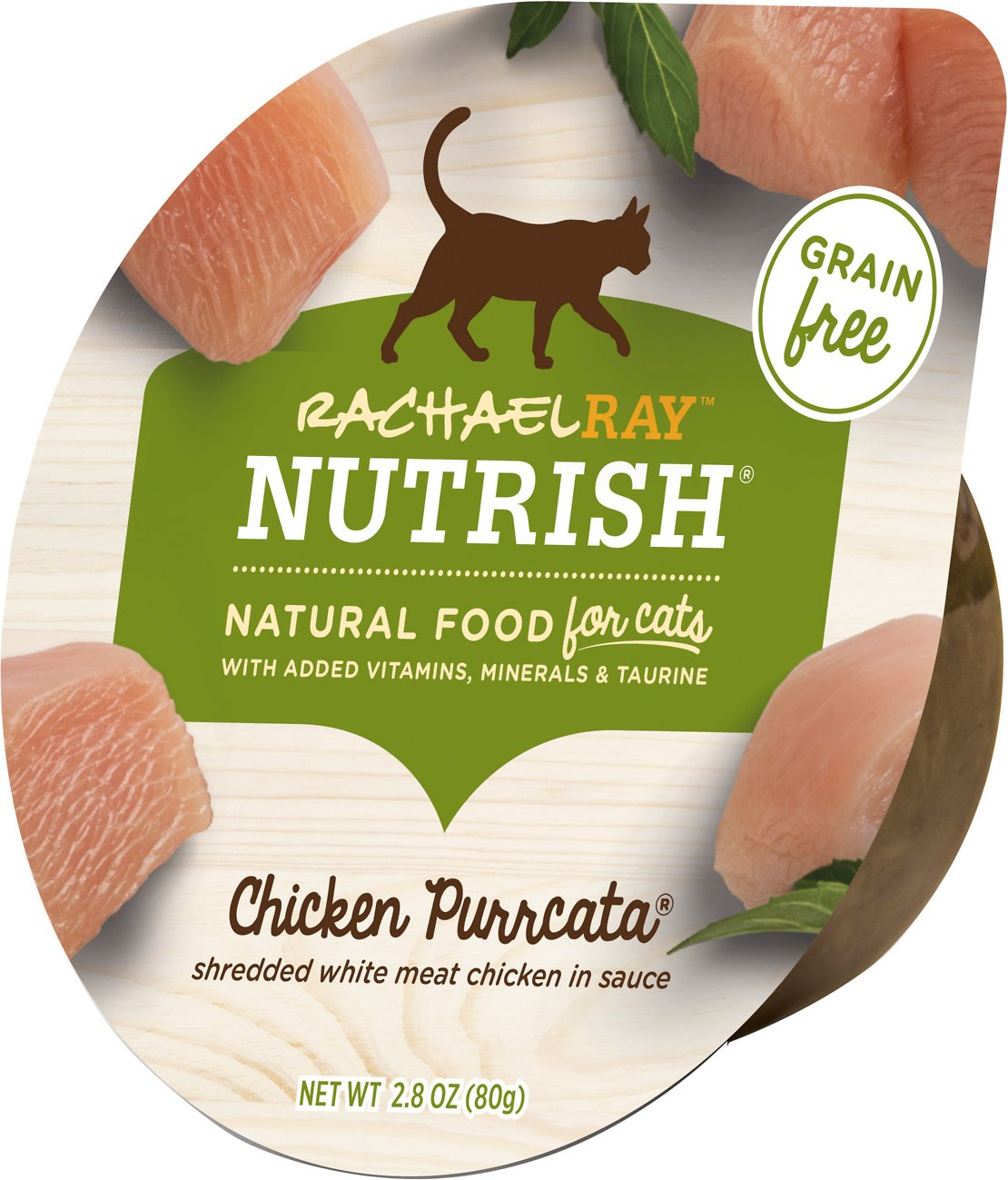 Rachael Ray Nutrish Natural Wet Cat Food Chicken Purrcata