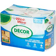 "Wee-Wee for Puppy Grass Decor Pads, 22"" x 23"", 50 count"