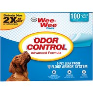 Wee-Wee Odor Control Pads for Dogs, 22 x 23 in, 100 count