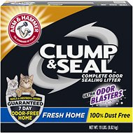 Arm & Hammer Litter Clump & Seal Fresh Home Litter, 19-lb box