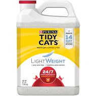 Tidy Cats Lightweight Scented Clumping Clay Cat Litter, 8.5-lb jug