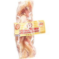 "Smokehouse USA 5"" Braided Pizzle Sticks Dog Treats, 5-in chew, 1 count"