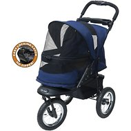 Pet Gear Jogger No-Zip Pet Stroller, Midnight River
