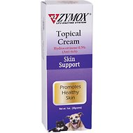 Zymox Enzymatic Topical Cream with Hydrocortisone 0.5% for Dogs & Cats, 1-oz tube