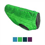 Kurgo Loft Reversible Dog Coat, Green, Medium