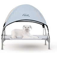 K&H Pet Products Pet Cot Canopy (Cot Sold Separately), Gray, Medium