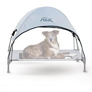 K&H Pet Products Pet Cot Canopy, Gray, Large