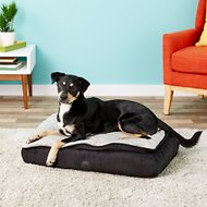 K&H Pet Products Feather-Top Orthopedic Pet Bed, Charcoal, Small