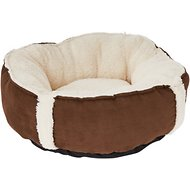 K&H Pet Products Sleepy Nest Pet Bed, Caramel, 18-inch