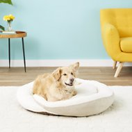 K&H Pet Products Huggy Nest Pet Bed, Tan/Caramel, Large