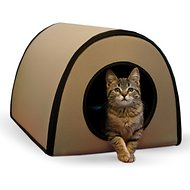 K&H Pet Products Mod Thermo-Kitty Shelter, Tan