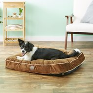 K&H Pet Products Tufted Pillow Top Pet Bed, Chocolate, Medium